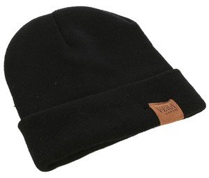 Woven Winter Beanie - Black