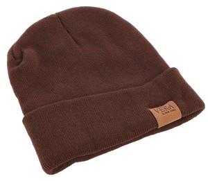 Other Woven Winter Beanie - Brown