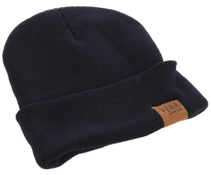 Other Woven Winter Beanie - Navy