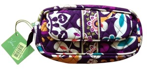 Vera Bradley Plum Crazy Cosmetic Bag