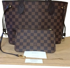 Louis Vuitton Neverfull Base Shaper Tag Care Booklet Lv Dust Cover Never Used Neverfull Collection No Pouch Shoulder Bag