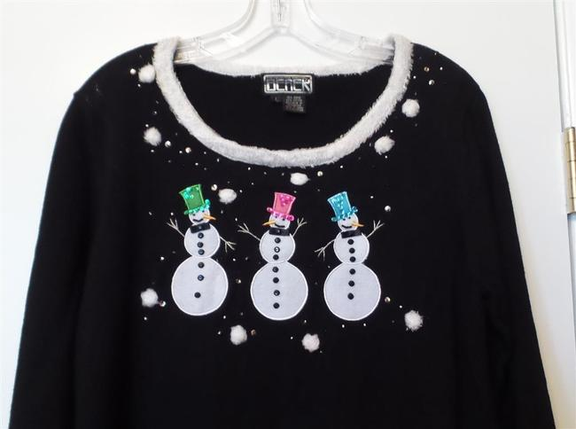 Berek Snowman Large Holiday Ugly Christmas Sweater
