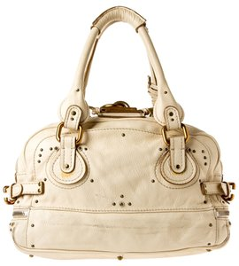 Chloé Chloe Cream Paddington Shoulder Bag