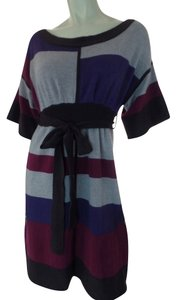 Gianni Bini short dress Gray Heather, Magenta, Plum, Purple Cashmere Pullover on Tradesy