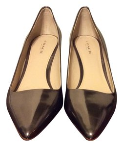 Coach Metallic Pumps