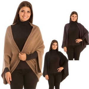 Free Shopping NEW' PONCHO BLACK JP209