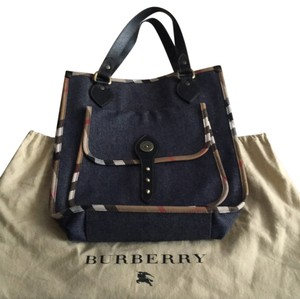 Burberry London Tote in Blue