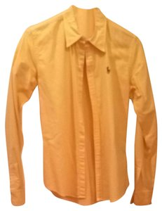 Polo Ralph Lauren Button Down Shirt Yellow