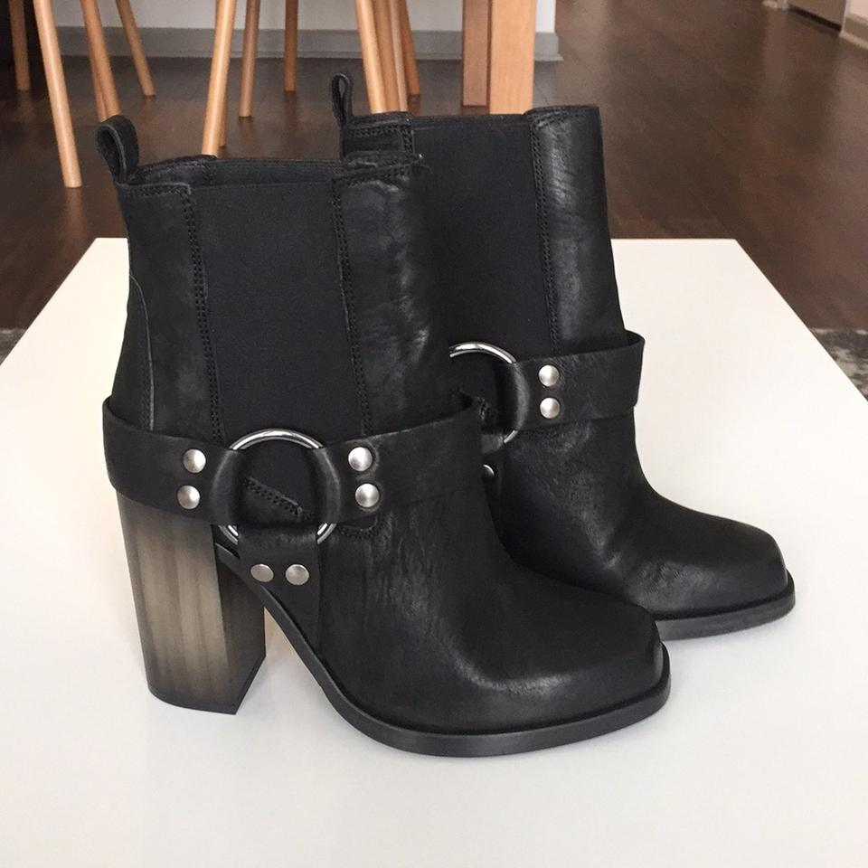f4647aa008 AllSaints Black Aiden Jules Heeled Boots/Booties Size US 7.5 Regular ...