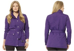 Lauren Ralph Lauren New With Tags Microfibre Coat