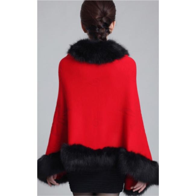 Other Shawl Cardigan Party Fur Faux Fur Cashmere Cape
