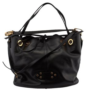 Miu Miu Bucket Tote in Black