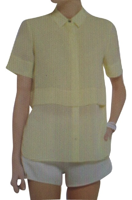 Preload https://item3.tradesy.com/images/t-by-alexander-wang-lemon-button-down-top-size-12-l-9936967-0-1.jpg?width=400&height=650