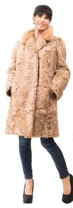 LAMB FUR COAT Persian Real Fur Coat
