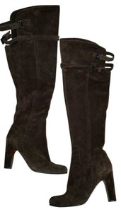 Sam Edelman Display Suede Leather brown Boots