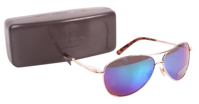 Item - Blue Blue/Green Lens Aviator C669 63 Sunglasses