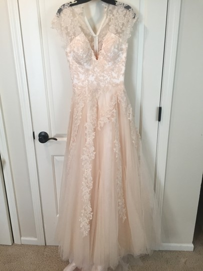Preload https://img-static.tradesy.com/item/9938341/ivory-tulle-and-satin-lace-retro-wedding-dress-size-0-xs-0-0-540-540.jpg