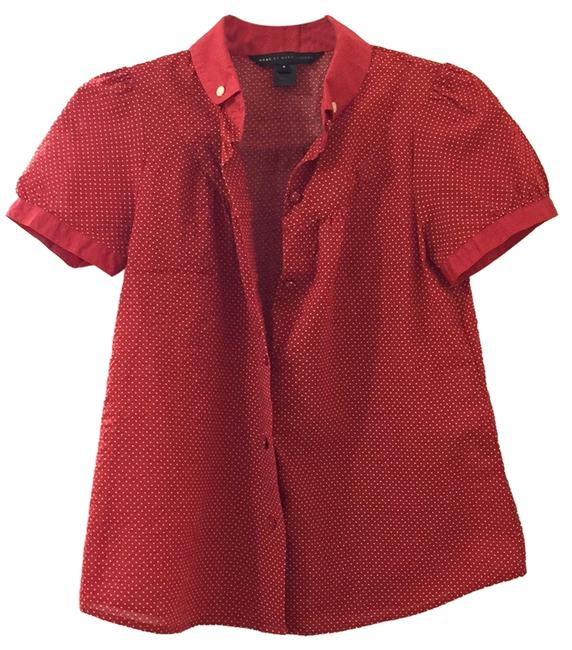 Preload https://item4.tradesy.com/images/marc-by-marc-jacobs-red-blouse-button-down-top-size-6-s-9939283-0-1.jpg?width=400&height=650