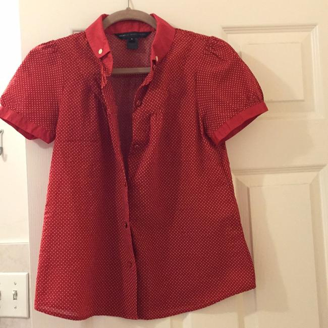 Marc by Marc Jacobs Button Down Shirt Red