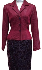 Peggy Jennings Peggy Jennings Suit Burgundy Size 2