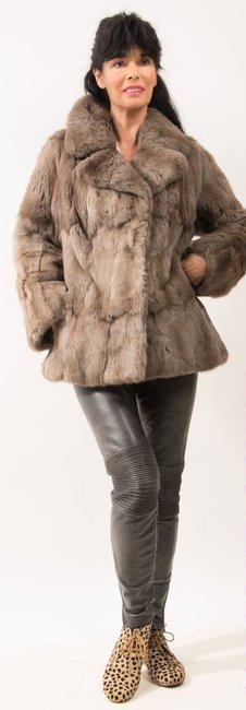 Other Pastel Mink Mink Mink Ranch Mink Mink Mink Med Xl Large Fur Coat
