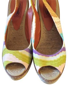 Missoni Colorful Wedges