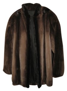 fur jacket brown Jacket