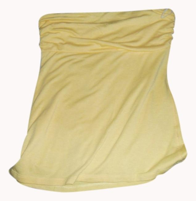 Item - Yellow Strapless Tank Top/Cami Size 12 (L)