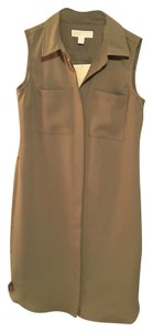 Michael Kors short dress Safari Green on Tradesy