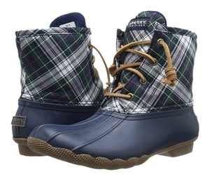 Sperry Plaid Boots