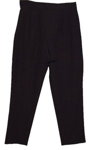 August Max Woman Straight Pants Black