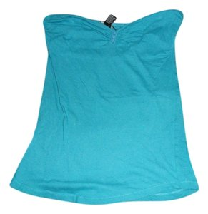 Wet Seal Strapless Top Blue