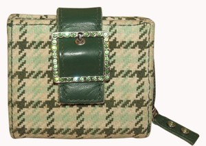 American Eagle Outfitters Satchel in GREEN AND WHITE