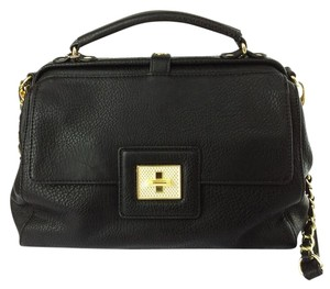 Olivia + Joy Adorno Frame Faux Leather Doctors Satchel in Black