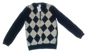 J.Crew Argyle New With Tags Cardigan