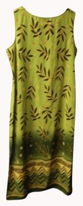 green Maxi Dress by JM Collection Long Olive