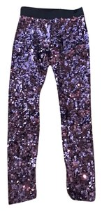 Dolce&Gabbana Eggplant purple Leggings