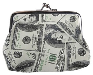 Other Show Me The Money Hundred Dollar Bills Design Coin Purse Change Purse