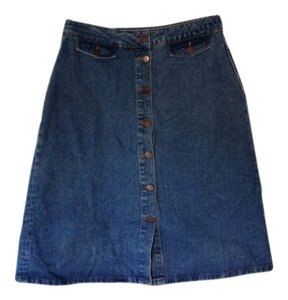 Zara Skirt Blue denim