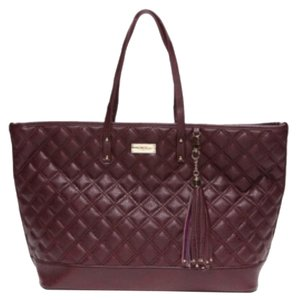 BCBG Paris Tote in Burgundy/Wine