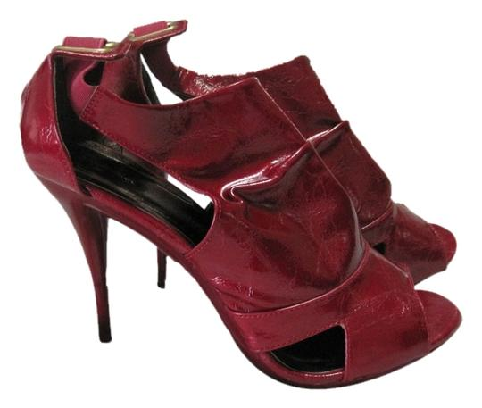 Promise Red Pumps