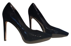 Rachel Roy Black Patent Leather Pumps