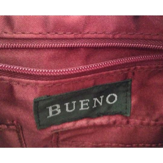 Bueno Collection Satchel in Burgundy