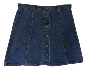 BDG Skirt Blue denim