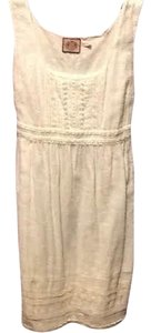 Juicy Couture short dress White Embroidered on Tradesy