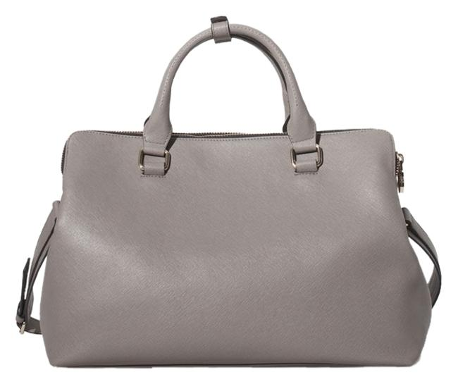 Item - With Zips In Gray Polyurethane Tote