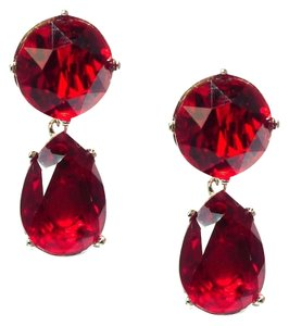 Kenneth Jay Lane Kenneth Jay Lane Ruby Drop Earrings