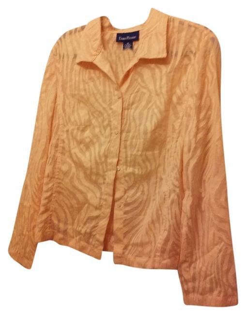 Preload https://item3.tradesy.com/images/evan-picone-gold-blouse-size-16-xl-plus-0x-9945382-0-1.jpg?width=400&height=650