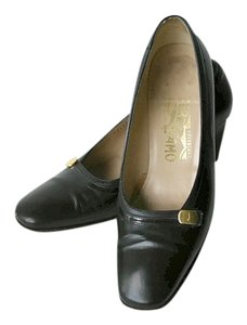 Salvatore Ferragamo Classic Retro Vintage black Formal