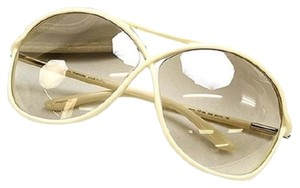Tom Ford Tom Ford Ivory Aviator Sunglasses New Without Tags